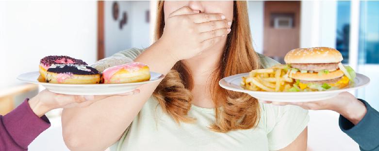 Maak gezonde keuzes op het gebied van voeding als je buikvet wilt verbranden.