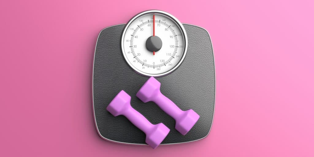 Sporten met gewichten zorgt ervoor dat je snel kan afvallen.