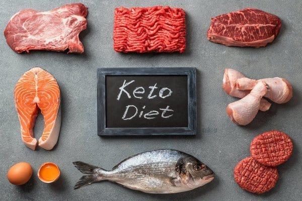 Keto dieet Voedsel