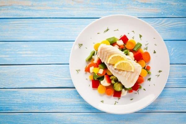 In vis zitten veel eiwitten die je kunnen helpen met afvallen
