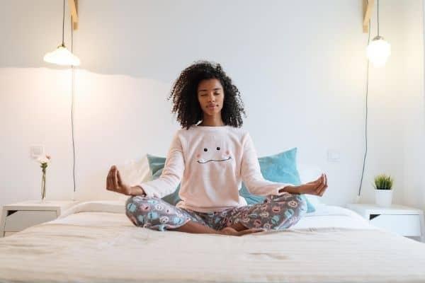 Mediteren tegen buikvet