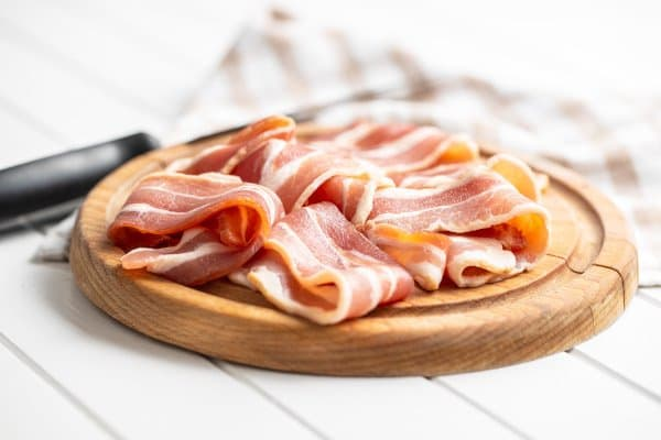 Bacon is lekker maar bevat veel verzadigde vetzuren. Gember helpt met het LDL-gehalte in je bloed verlagen.