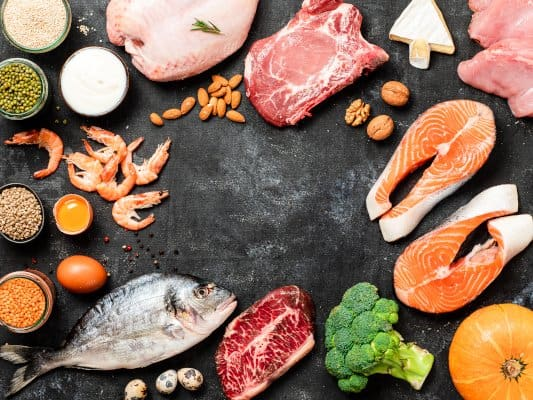 het eten van veel eiwitten zal je helpen om afvallen mogelijk te maken