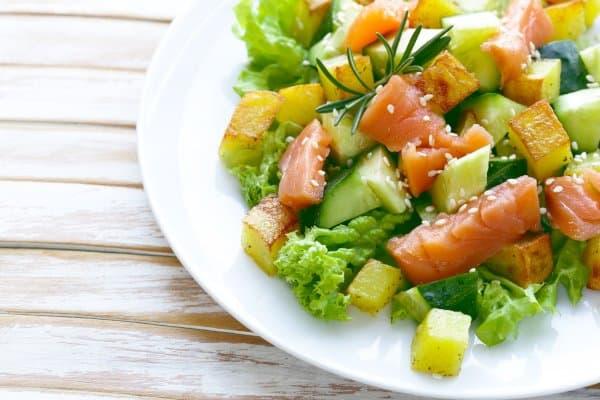 Van gezonde salades kan je afvallen