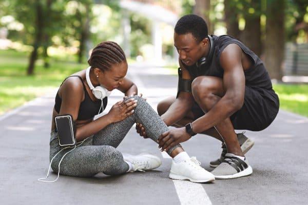 Hardlopen en afvallen gaan niet altijd samen. Je kunt er door geblesseerd raken