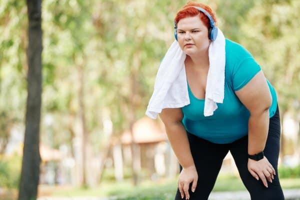 Afvallen door te sporten is niet altijd effectief