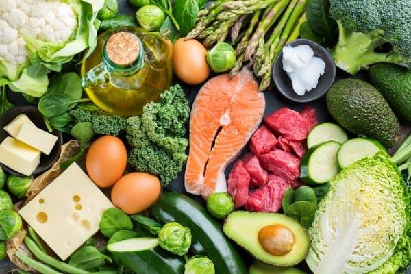 Wanneer je een koolhydraatarm dieet volgt dan kan je het voedsel op het plaatje eten.