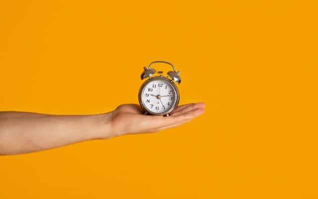 Het belangrijk dat je een deadline hebt als je wilt afvallen