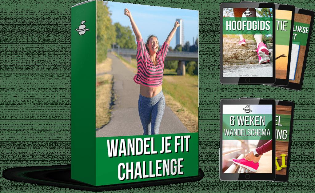 Tijdens de Wandel Je Fit Challenge ga je samen met 600 vrouwen aan de slag met afvallen.