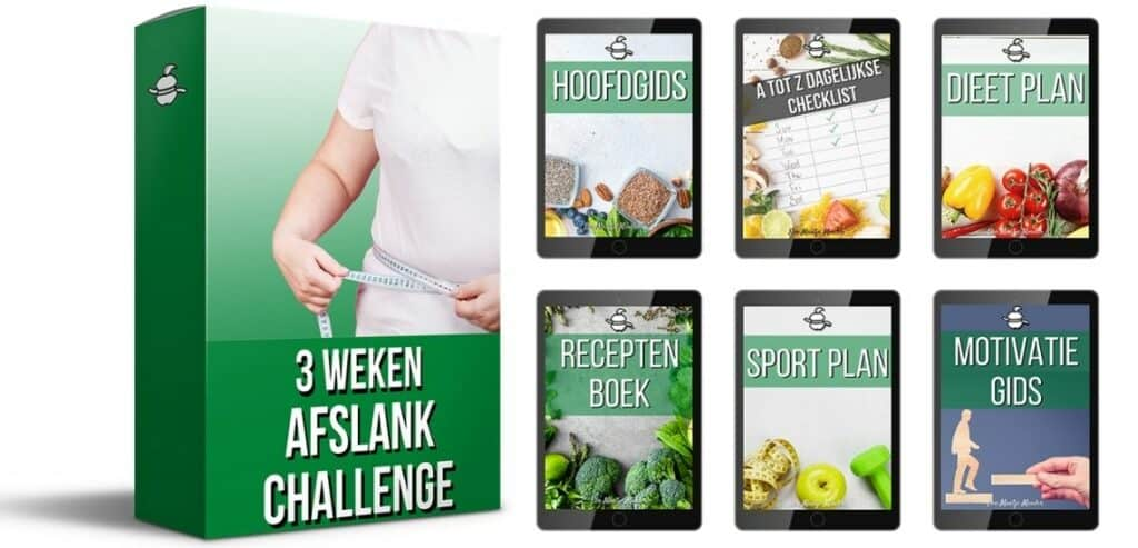 Mock up 3 Weken Afslank Challenge