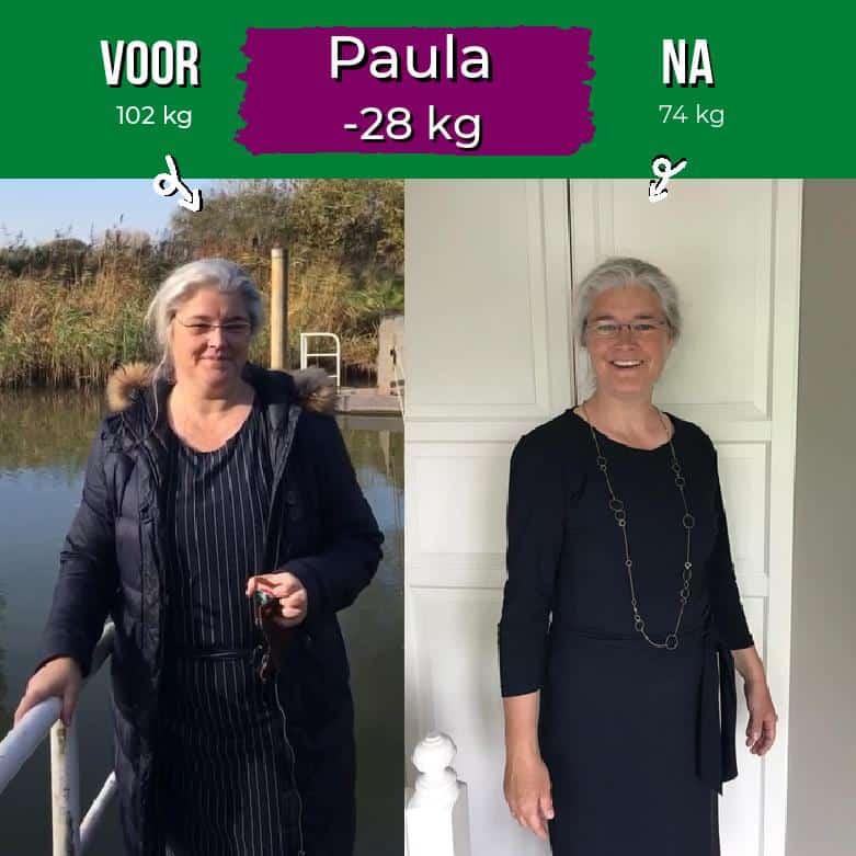 Paul 28 kilo afvallen