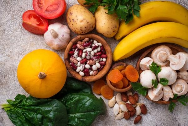 Gezond voedsel is belangrijk tijdens het vasten