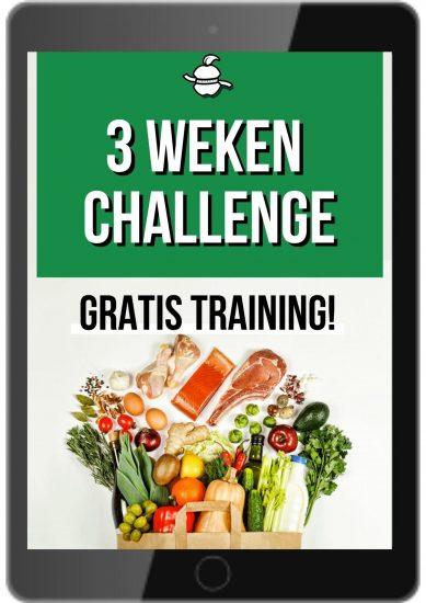 Copy of Drie weken afslank Challenge Gratis training (1)