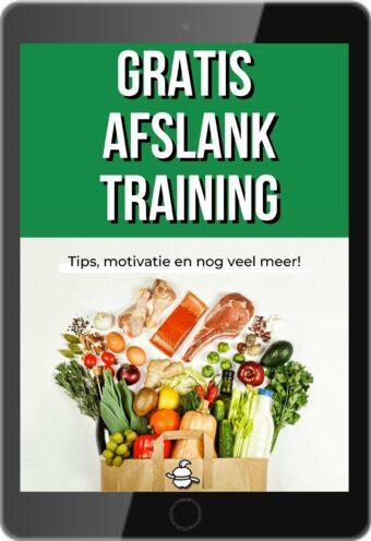 Gratis afslank training mock up
