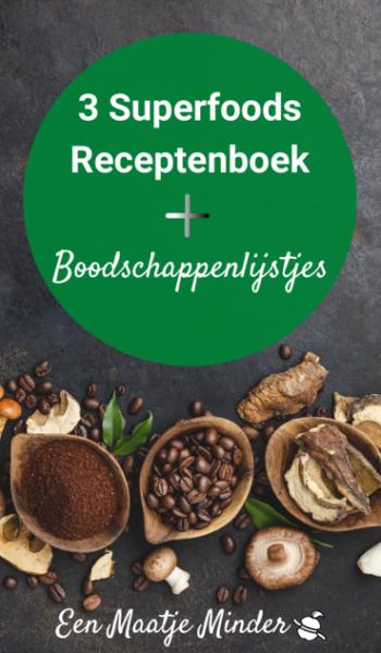 Het Superfood Receptenboek.